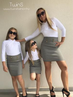Gold Pepita szoknya - gyerek 1.